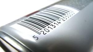 Dentro de los tipos de datos numericos se encuentra la información que contiene los códigos de barras en productos de consumo.