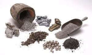 Tipos de minerales, extracción