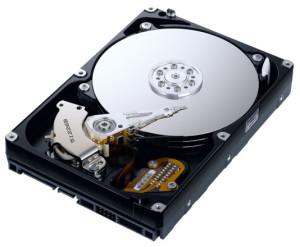 Tipos de almacenamiento, disco duro