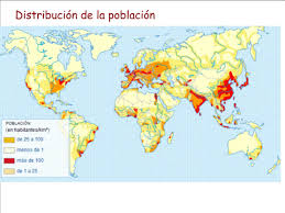 Tipos de población, densidad