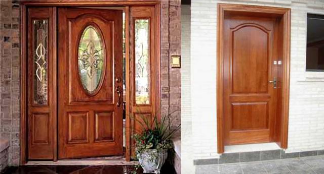 Tipos de puertas tipos de for Modelos de puertas principales