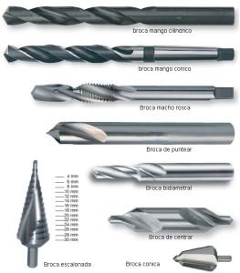 Tipos de brocas, según la aplicación