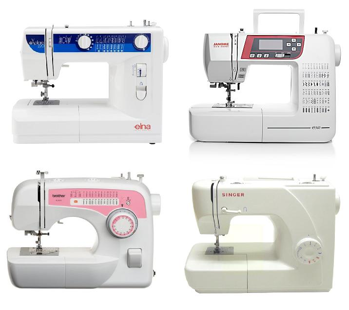 Tipos de máquinas de coser - Tipos De
