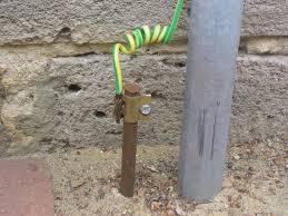 Tipos de electrodos, puesta a tierra