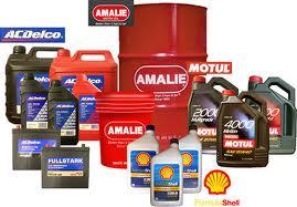 Tipos de lubricantes, clases