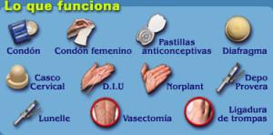Tipos de métodos anticonceptivos, eficaces
