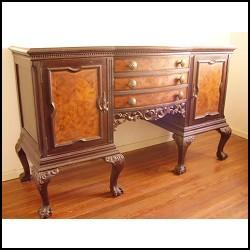 Tipos de madera para muebles tipos de for Muebles de roble antiguos