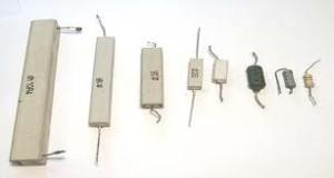 Tipos de resistencias eléctricas, por composición