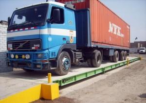 Tipos de básculas, para camiones