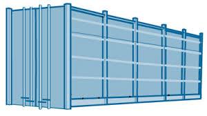 Tipos de contenedores, marítimos y terrestres (dry van)