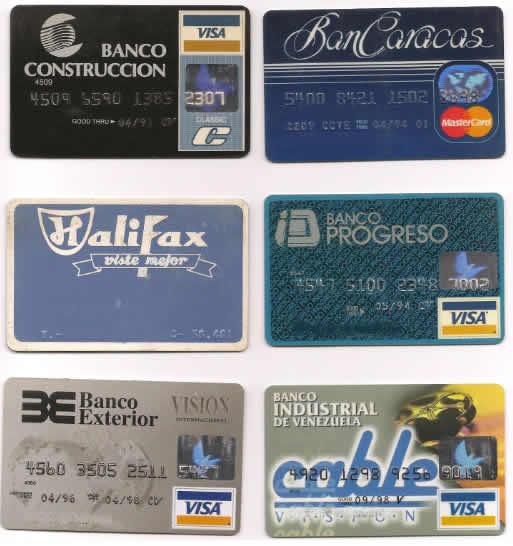 Tipos de Tarjetas de Creditos Tipos de Tarjetas de Crédito
