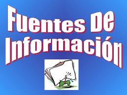 Tipos de fuentes de información: Secundarias