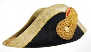 Tipos de sombreros: El bicornio