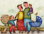 Tipos de familia en el ámbito social