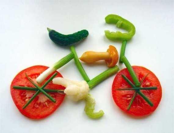 Con los tipos de cortes de  verduras, podemos crear imagines o figuras que motivan a comer.