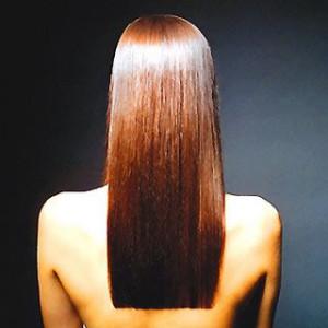 Tipos de cabello, estructura lacio