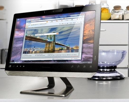 Tipos de computadoras modernas con pantalla touch.