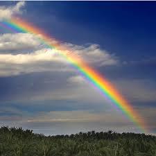 Tipos de colores, arco iris