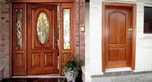 Tipos de puertas, elementos