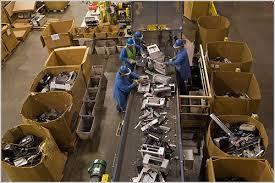 Tipos de reciclaje, mecánico