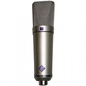 Tipos de micrófonos,  electroestático