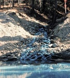 Tipos de contaminación del agua Por compuestos minerales