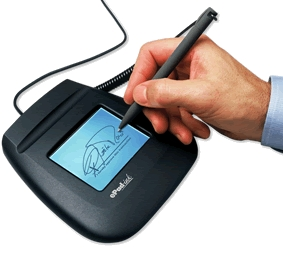 Tipos de firmas: electrónica