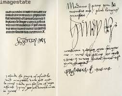Tipos de firmas: trazos ornamentales
