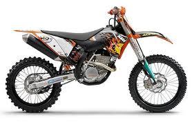 Tipos de motos Motocross