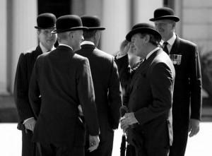 Tipos de sombreros: el bombín