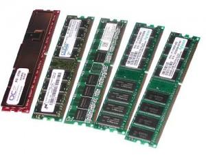 Tipos de memorias RAM DRAM