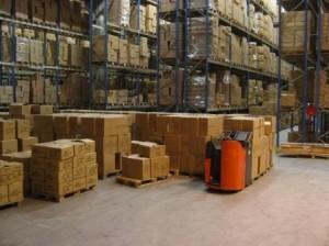 Tipos de almacenes de productos terminados