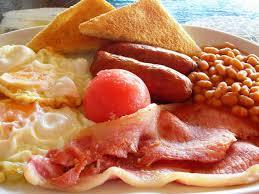 Tipos de desayunos Inglés