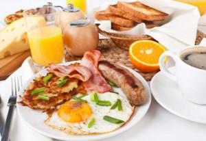 Tipos de desayunos americano
