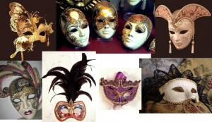 Tipos de máscaras de Venecia